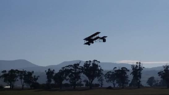 Vickers in Flight