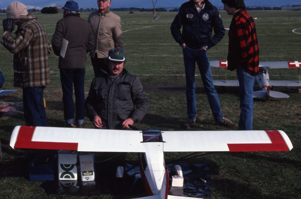 Flying Model Planes At Symmons Plains July 1984 (2)